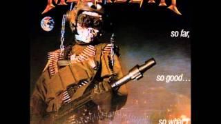 Megadeth-Anarchy in the U.K.[HQ and LYRICS]
