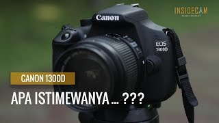 Hands-On Kamera DSLR Canon 1300D