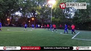 Guatemala vs. España Mundialito de Chicago Illinois International Soccer