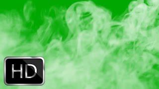 Smoke Green Screen HD!