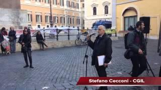 Marco Cavallo a Roma per la campagna Stop OPG: L'intervento di Stefano Cecconi
