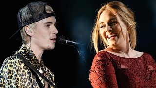 Justin Bieber Blamed For Adele's Grammy Performance Mishap?