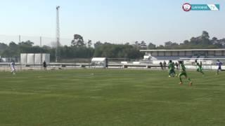 Tomás Correia da equipa de Iniciados do GD Gafanha faz um golo de se lhe tirar o chapéu!