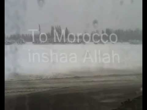 The way to Morocco Marakkesh  by Najib casaoui2013 الطريق الى مراكش