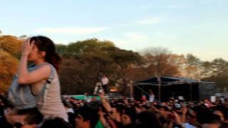 Los Cafres - Si el amor se cae @Buenos Aires 21 Sept 2011