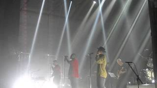 Massive Attack & Young Fathers (He Needs Me) live @ De Montfort Hall Leicester 25/01/16
