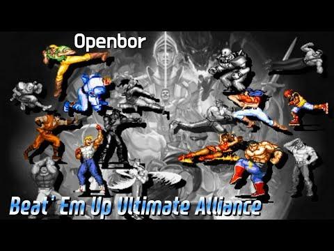 [OpenBOR]Beat Em Up Ultimate Alliance Beta 0.5(비트 엠 업 울트라 얼라…