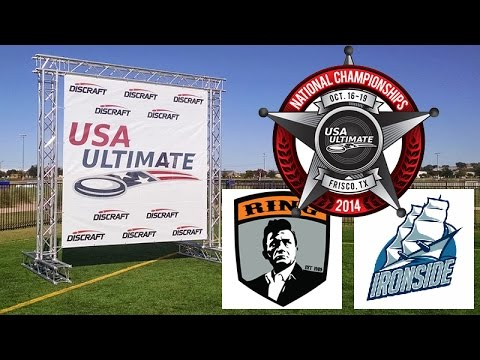 Video Thumbnail: 2014 National Championships, Men's Semifinal: Boston Ironside vs. Raleigh Ring of Fire (First Half)