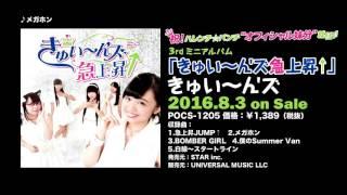 【公式PV】メガホン(Short Ver.)- きゅい~ん'ズ