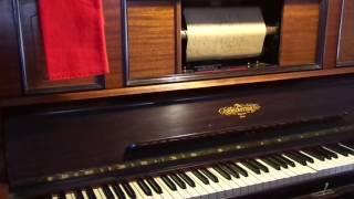 La farandula Pasa, Creación de Raquel Meller - M. Romero, en pianola por Horacio E. Asborno, Viedma