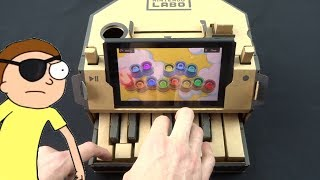 EVIL MORTY THEME/FOR THE DAMAGED CODA BUT IT'S PLAYED ON THE NINTENDO LABO