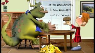 Le Livre d'Enfants ~ Comment s'insinuer avec un monstre dans l'école