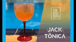 O MELHOR DRINK com JACK DANIELS e APEROL - JACK TÔNICA
