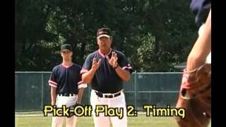 Shortstop 2nd Base Pick Off Plays