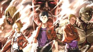 Attack on Titan Season 2 OST - Berthold and Reiner Transformation OFFICIAL OST (Short Version)