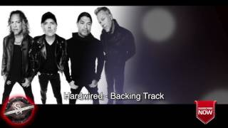 "Metallica ""Hardwired"" - Drums and Bass Only **NEW SONG BACKING TRACK 2016"