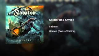 Soldier of 3 Armies
