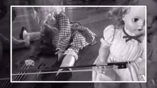 Creepy dolls find a violin
