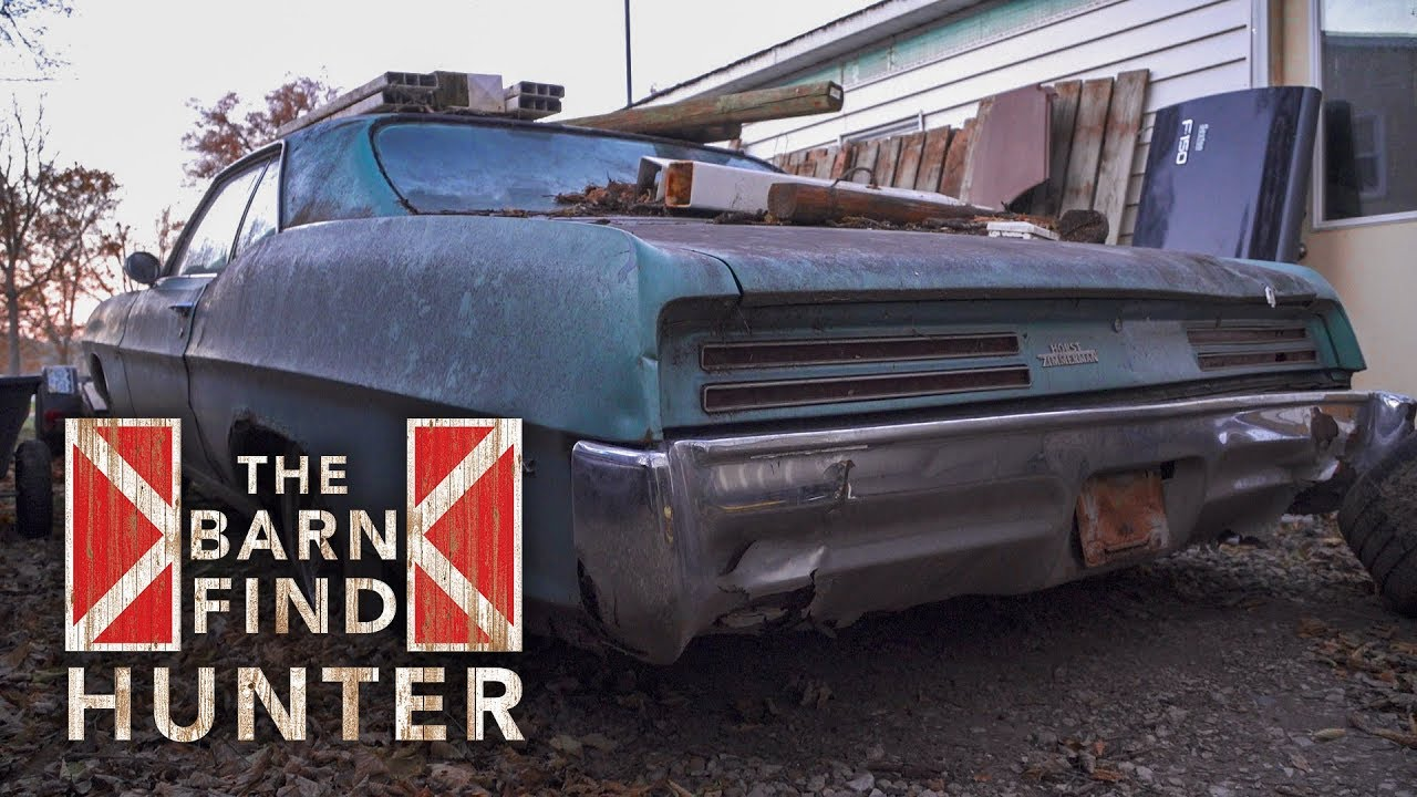 Tom Cotter's secret to finding cars on Barn Find Hunter? Persistence