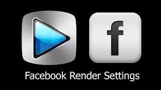 Sony Vegas Pro Tutorial: Facebook Video Render Settings