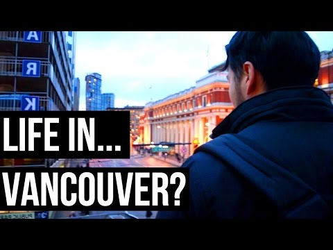 LIFE IN VANCOUVER? EXPLORING DOWNTOWN VANCOUVER BRITISH COLUMBIA CANADA (TOUR VLOG)