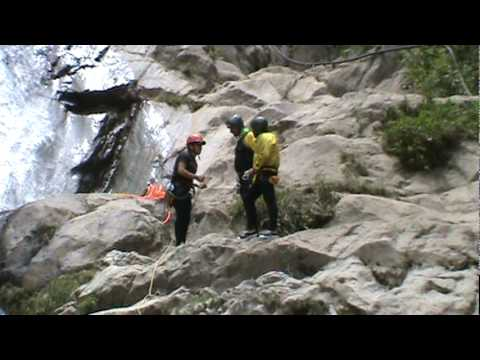 Canyoning with Guanguiltagua in Ecuador 3