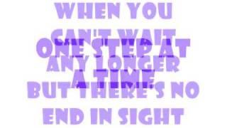 one step at a time lyrics