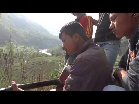 Beautiful Nepali Song by Samuel in Himalayan Foothills near Besi Sahar, Nepal