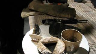 Raku Japanese Ceramics Firing Live Part 3
