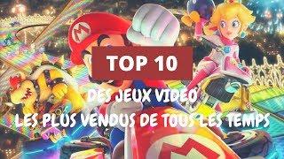Top 10 des  jeux vidéo 🎮 les plus vendus de tous les temps 🎮
