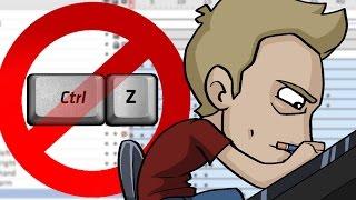 NO UNDO/ERASER: Animation Challenge! #FloppyPotato