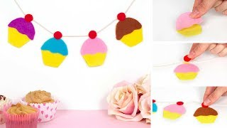 How to make Cupcake Style Bunting