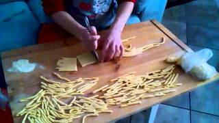 Come fare i Fusilli Spiralati col ferretto - Il Bianco in Cucina