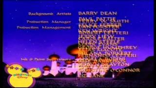 Playhouse Disney Scandinavia - ALADDIN: THE SERIES - End Credits