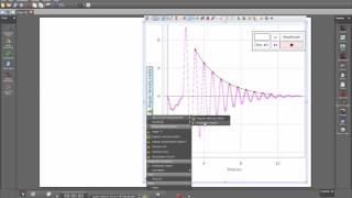 Fit the Peaks of a Damped Oscillation (Capstone) width=