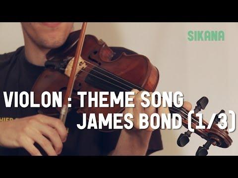 Comment jouer James Bond au violon
