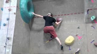 Bouldering at Ground Zero