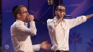 America's Got Talent 2016 Ilan & Josh The Cool Duet - Wait For It Full Audition Clip S11E06