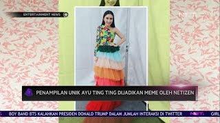 Penampilan Unik Ayu Ting Ting Dijadikan Meme oleh Netizen