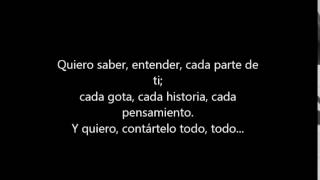 Carlos Weinberg - Saber (letra)