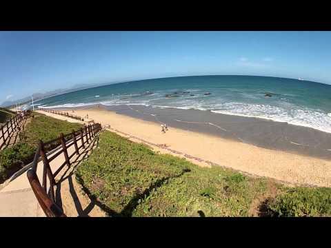 South African beaches: Kleinbrak River, Hartenbos, Mossel Bay (The Western Cape)