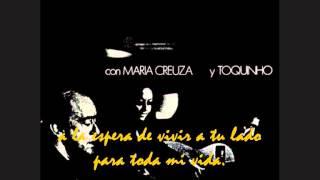 """VINICIUS DE MORAES, MARIA CREUZA, TOQUINHO. """"Eu sei que vou te amar"""". 2003. album """"La Fusa""""."""