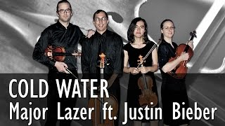 Major Lazer - Cold Water - String Quartet COVER ( feat. Justin Bieber & MØ)