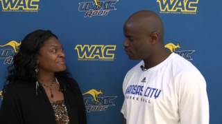 Interview with UMKC Men's Head Basketball Coach Kareem Richardson