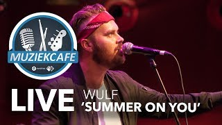 Wulf - 'Summer On You' live bij Muziekcafé