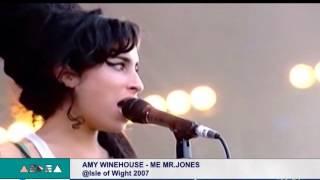 Aedea - Me &Mr Jones - Amy Winehouse live @ Isle Of Wight 2007