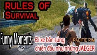 Rules Of Survival Hightlight Moment #2 :Đua xe , Hành động nẩy lửa như Pacific Rim [TiChi Gaming]