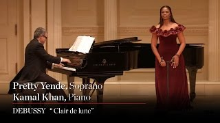 "Soprano Pretty Yende Sings Debussy's ""Clair de lune"""