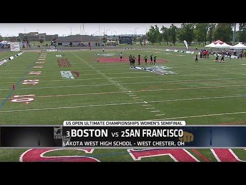 Video Thumbnail: 2015 U.S. Open Club Championships, Women's Semifinal: San Francisco Fury vs. Boston Brute Squad