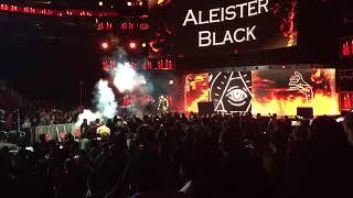 Aleister Black Entrance - NXT Takeover War Games